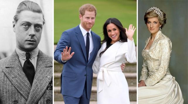 İngiltere Kraliyet ailesinin isyankarları: Kral Edward, Diana ve Meghan