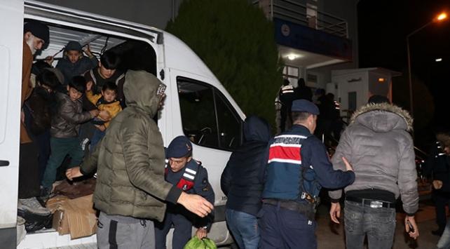 Yalovada 48 düzensiz göçmen yakalandı