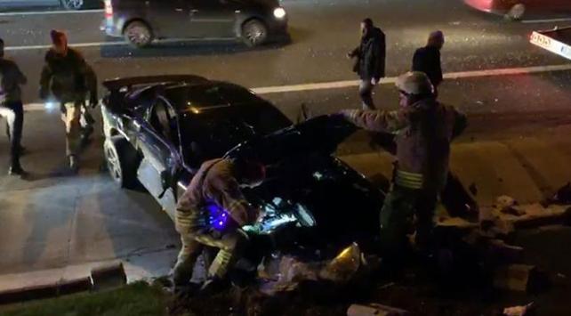 İstanbulda zincirleme trafik kazası: 4 yaralı