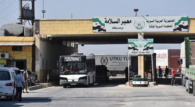 Suriyeye insani yardımlar artık iki kapıdan gönderilecek