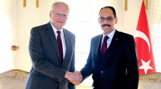 Cumhurbaşkanlığı Sözcüsü Kalın Suriye Özel Temsilcisi Jeffrey ile görüştü