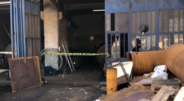 Başakşehirde sanayi sitesinde patlama