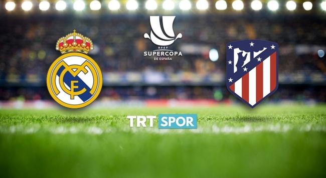 Madrid derbisi TRT SPORda