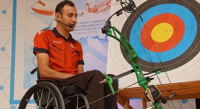 Paralimpik okçu Bahattin Hekimoğlu yılın sporcusu ödülüne aday