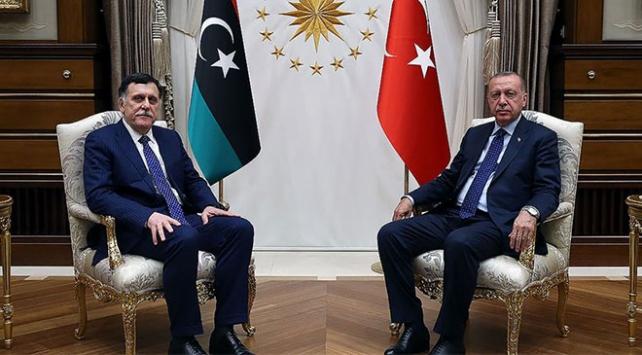 Cumhurbaşkanı Erdoğan UMH Başbakanı es-Serrac ile bir araya gelecek