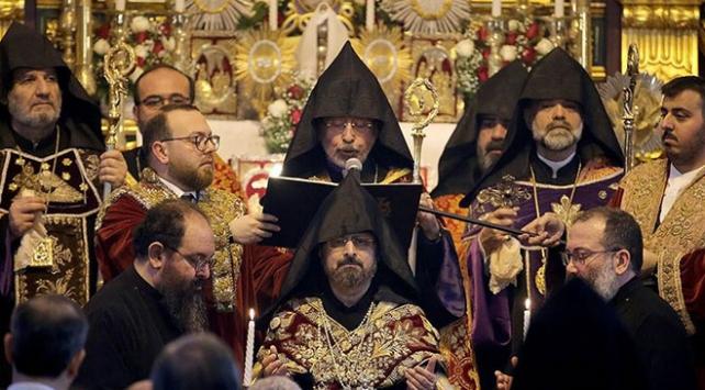 Türkiye Ermenileri Patriği Sahak Maşalyan için yemin töreni