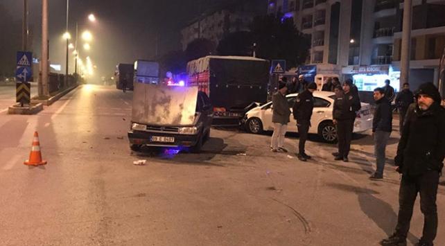 Aydında trafik kazası: 9 yaralı