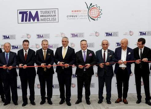 TİM, ilk yurt dışı temsilcilik ofisini Kıbrısta açtı