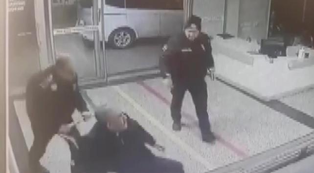 Kalp krizi geçiren vatandaşı hastaneye polis yetiştirdi