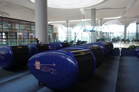 İstanbul Havalimanında uyku kabini hizmeti başladı