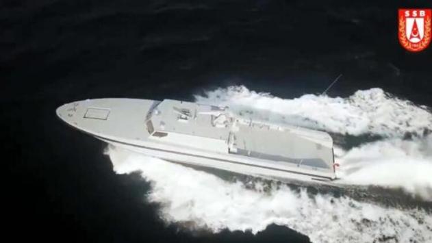 Yeni SAT botunun ikincisi bu yıl Deniz Kuvvetleri Komutanlığına teslim edilecek