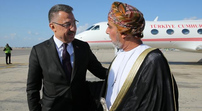 Cumhurbaşkanı Yardımcısı Oktaydan Ummana taziye ziyareti