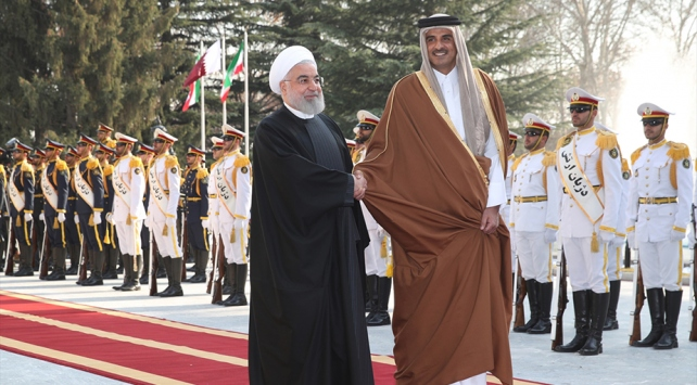 """Ruhaniden """"Katarla ilişkilerimizi geliştireceğiz"""" açıklaması"""