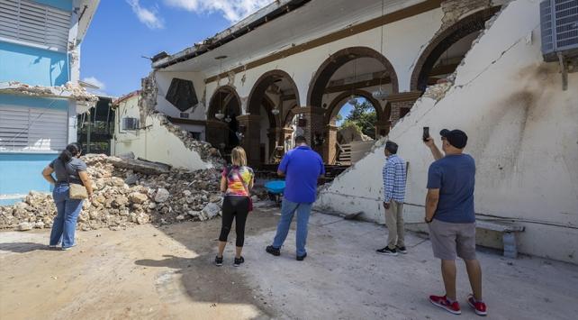 Porto Riko 6 büyülüğünde deprem ile sallandı