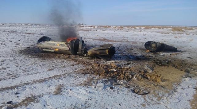 Rusyanın balistik füzesi Kazakistana düştü