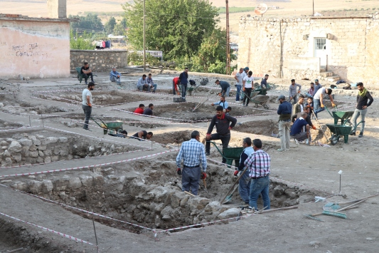 Hasankeyfte kurtarma kazıları tamamlanıyor