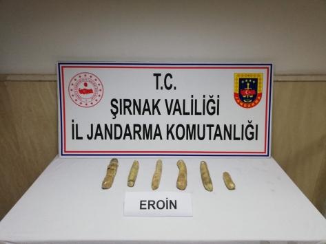 Şırnaktaki operasyonlarda yakalanan 42 kişiden 4ü tutuklandı