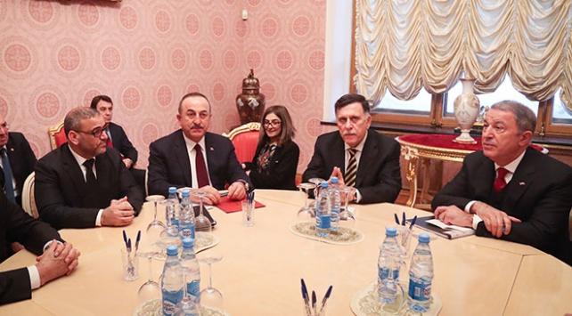 Moskovadaki Türk heyeti Serrac ile bir araya geldi