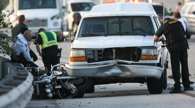 ABD: Obamanın Konvoyunda 1 Polis Öldü