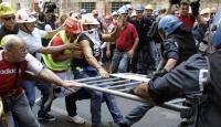 Roma'da Gergin İşçi Eylemi