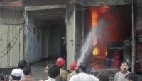 İki Fabrikada Yangın: 45 Ölü
