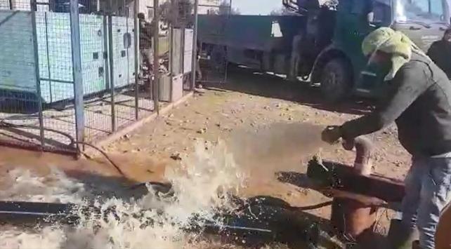 Türkiye Tel Abyaddaki su kuyularını onarıyor