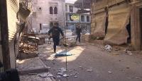 TRT Haber ekibi İdlib'de büyük tehlike atlattı