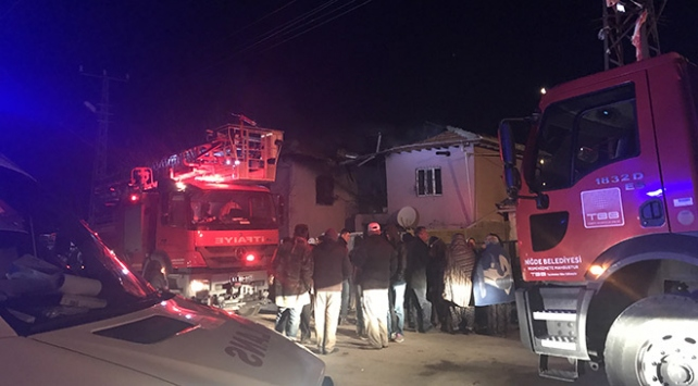 Niğdede yangın faciası: 4 ölü, 3 yaralı