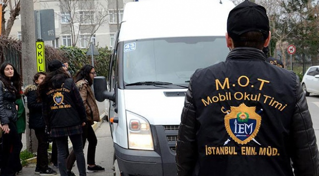 İstanbulda okul çevrelerinde aranan 11 bin şüpheli yakalandı