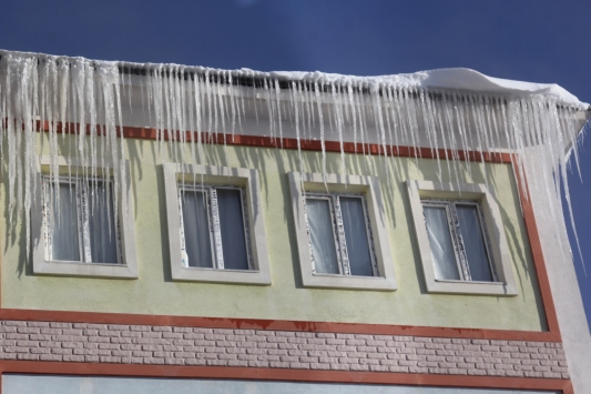 Vanın Başkale ilçesinde kar nedeniyle eğitime ara verildi