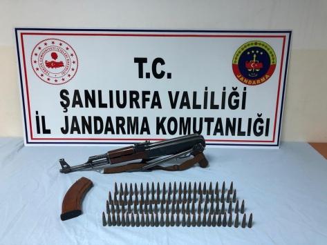 Şanlıurfada uyuşturucu ve silah kaçakçılığı operasyonu