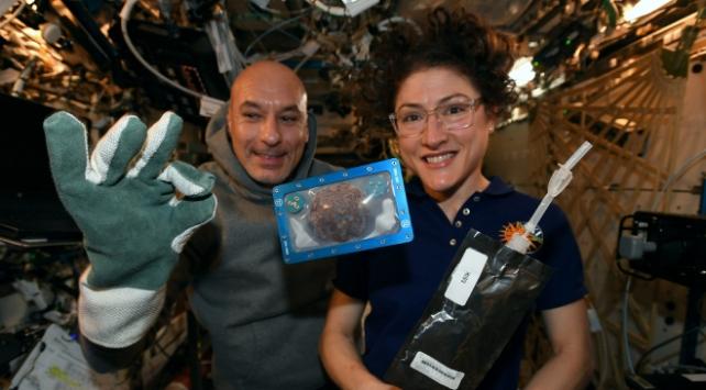 """İlk """"uzay kurabiyesi"""" hazır"""