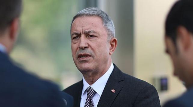 Bakan Akar: Libyada sorunların çözümü için çalışmalar sürüyor