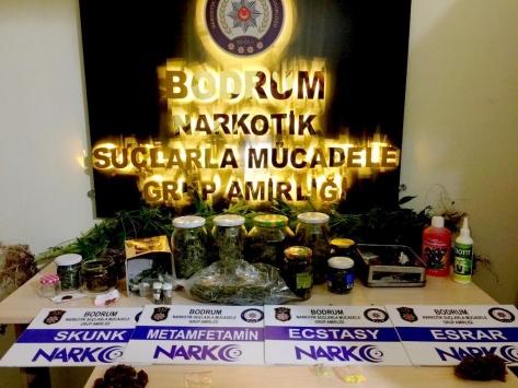 Muğlada uyuşturucu ticareti zanlısı tutuklandı