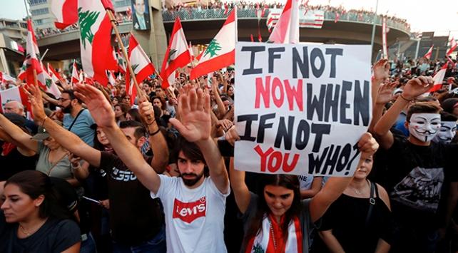 """Lübnanda """"öfke haftası"""""""