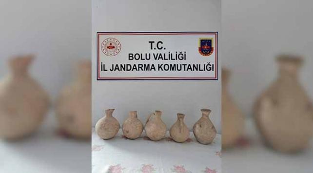 Boluda Roma dönemine ait 5 küp ele geçirildi