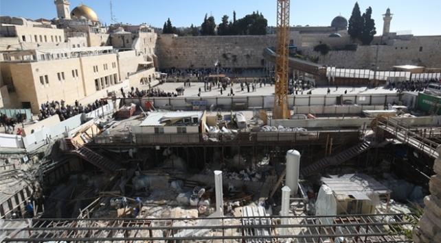Filistinden, İsrailin Mescid-i Aksa kazılarına komisyon talebi