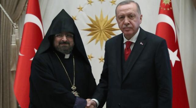 Cumhurbaşkanı Erdoğan Maşalyanı kabul etti