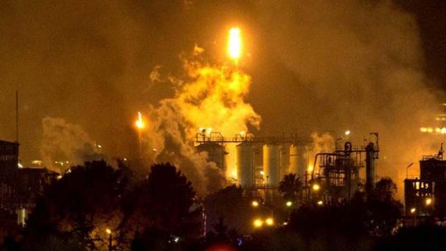 İspanya'da sanayi tesisinde patlama