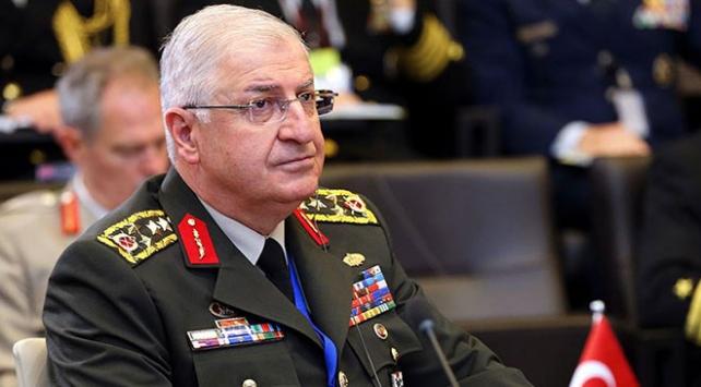 Genelkurmay Başkanı Güler ABDli mevkidaşı ile Suriyeyi görüştü