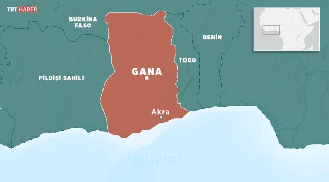 Ganada trafik kazası: 34 ölü