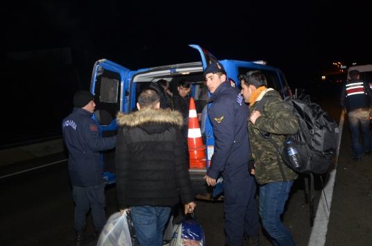 Tekirdağda 20 düzensiz göçmen yakalandı