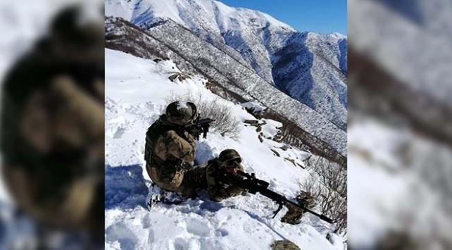 Bitliste teröristlerin kullandığı 11 sığınak imha edildi