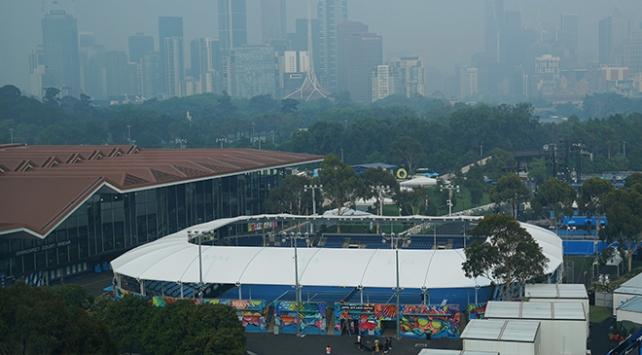 Hava kirliliği nedeniyle Avustralyada tenis turnuvaları ertelendi