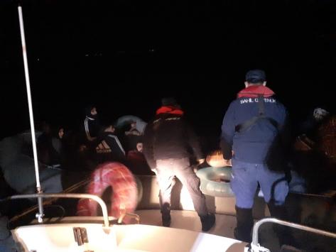 Muğlada 36 düzensiz göçmen yakalandı