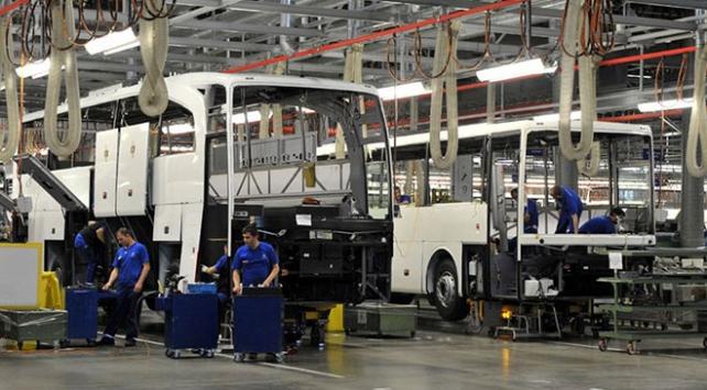 Otobüs, minibüs ve midibüs ihracatı 2 milyar doları geçti