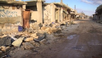 TRT Haber Esed'in hedef aldığı Masaran köyünde