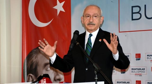 CHP Genel Başkanı Kılıçdaroğlu: BM Barış Gücü gitsin Libyada iki tarafı barıştırsın