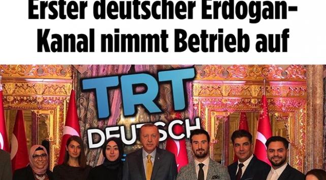 Alman medyası TRT Almancayı hedef aldı
