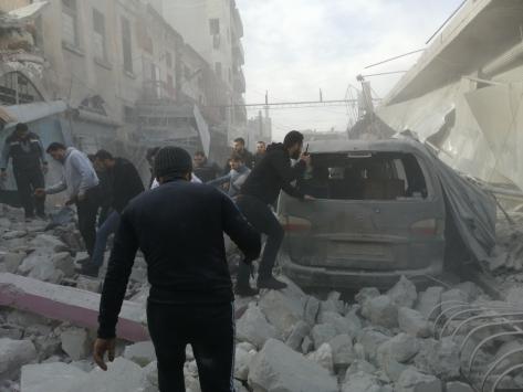 Esed rejimi ve Rusya, ateşkese rağmen İdlibde hava saldırılarına başladı: 10 ölü